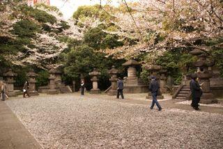 徳川霊廟内